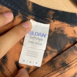 Gildan Tops - Panic at the Disco Custom Bleached T-shirt